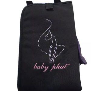 Baby Phat Black Diaper Changing Mat
